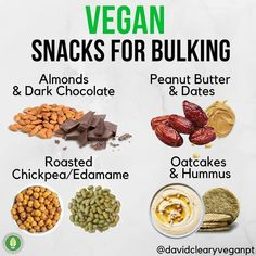Vegan Foods, Vegan Dishes, Vegan Recipes, Food To Gain Muscle, Muscle Food, Weight Gain Meals, Healthy Weight Gain, Hardcore Workout, Workout Hiit