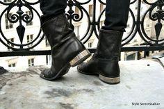 http://www.facebook.com/FashionByMaja  Chanel Biker Boots