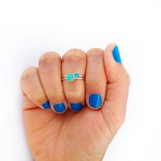 DIY Jewelry - Beaded Stackable Rings - Maritza LisaMaritza Lisa