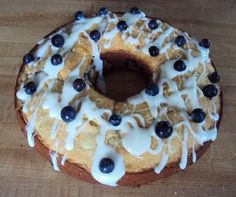 Flour me with love: blueberries and cream cake
