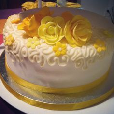 50th Anniversary cake by C.R. Sweets