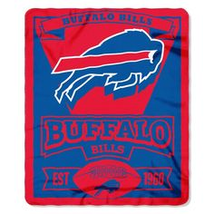 Use this Exclusive coupon code: PINFIVE to receive an additional 5% off the Buffalo Bills NFL Marquee Fleece Throw at SportsFansPlus.com