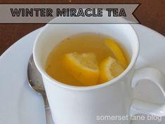Winter Miracle tea