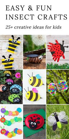 281 Best Insect Crafts And Activities Images In 2019 Butterflies
