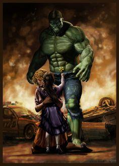 Hulk by warlordwardog in Marvel Comics Superheroes: Showcase of Colorful Fan Artworks. Part 1