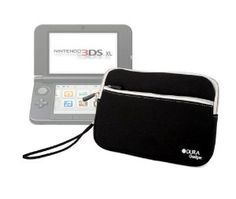 DURAGADGET Black Water & Shock Resistant Carry Case For The New Nintendo 3DS XL