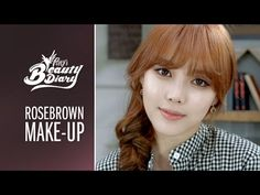 Pony's Beauty Diary – Rose Brown Makeup (with subs) 로즈 브라운 메이크업 Beauty Tutorials, Beauty Hacks, Makeup Tutorials, Beauty Tips, Makeup Tips, Beauty Makeup, Makeup Ideas, Pony Makeup, Asian Eye Makeup