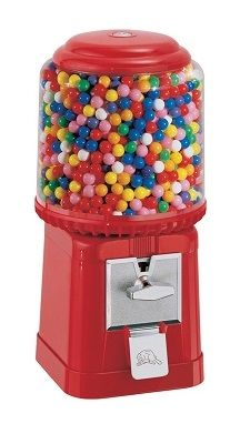 beaver bubble gum machine