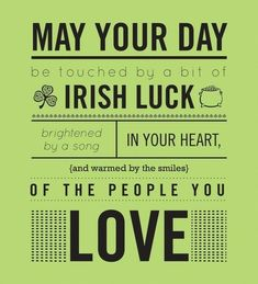 Happy St Patrick's Day to all our Irish Customers...May you be blessed this day.