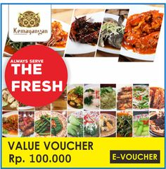 [80,000](▼20%)☆Kemayangan Resto☆Value Voucher☆Only Qoo10 Poromotion ☆ Mobile voucher only
