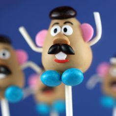 Mr. Potato Head Cake Pops | Top 15 Bakerella Cake Pops & More | Food | Disney Family.com#Mr. Potato Head Cake Pops;10
