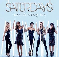 New Single Alert - The Saturdays - Not Giving Up Cd Cover, Album Covers, Frankie Sanford, Christina Millian, Barbara Mori, Emma Rigby, Ella Henderson, Charissa Thompson, Danielle Bradbery