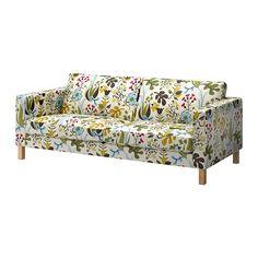IKEA KARLSTAD 3-er Sofa, Blomstermåla bunt  EUR 458,-