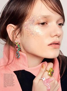 ATTENTION : Infectiously Fun! Elle Czech March 2016 by by Agata - Dior Spring 2016