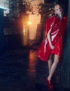 Numéro China June/July 2015 Model: Nastya Sten Photographer: Txema Yeste Fashion Editor: Tim Lim
