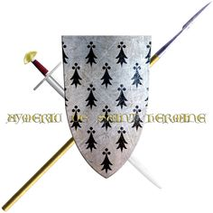 Aymeric de Sainte-Hermine du Poitou took the Cross in 1248 to join the sixth crusade.