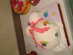 Baby Bump Baby Shower Cake.
