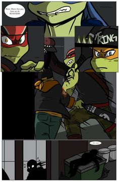 TMNT SP AU: The New Guard Dog. Pg 4 by Cartoonfanatic92.deviantart.com on @DeviantArt