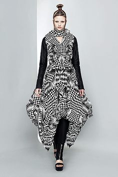 From Gareth Pugh's Spring 2011 Ready-To-Wear Collection
