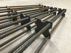 Industrial Farm Table Style Metal Legs- Height- ReBar height works well for dining tables, desks, entry tables, etc. Table legs are… Industrial Metal Table Legs, Vintage Industrial Furniture, Metal Furniture, Industrial Shelving, Welding Table, Metal Welding, Diy Welding, Welding Cart, Welding Ideas