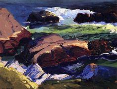 Sun Glow George Wesley Bellows - 1913