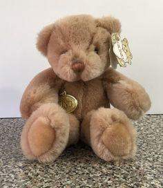 Gund Vintage 1985 Brown Teddy Bear Bunky Style 2067 Tags Plush Stuffed Korea K7 #Gund