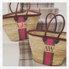 Basket Bag, Straw Bag, Pink, Bags, Style, Handbags, Rose, Stylus, Dime Bags