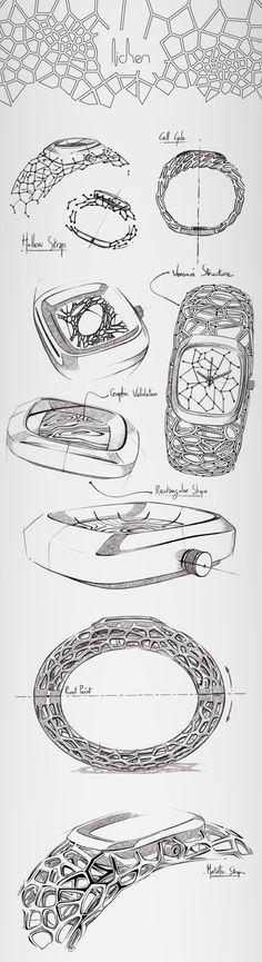 【风华正茂06】设计师简历篇——LICHEN - exosqueleton watch