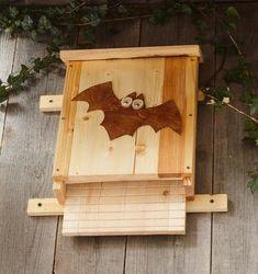 Fledermauskasten Bird, Outdoor Decor, Wall, Home Decor, Stress, Wood Stone, Decoration Home, Room Decor, Birds