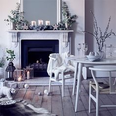 Check out our edit of sophisticated and snow-inspired decorations...