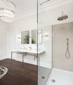'Your home should tell the story of who you are and be a collection of what you love' ~ Nate Berkus. At Drummonds we love being part of your story. Vanity Basins collection, link in bio. Designed by @bracodesigns Open Showers, Victorian Style Homes, Vanity Basin, Modern Properties, Nate Berkus, Upstairs Bathrooms, Plan Design, Bay Window, Small Spaces