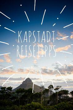 Die schönste Stadt der Welt ist Kapstadt. #capetown