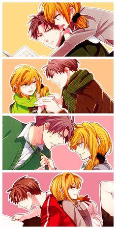 "Gekkan Shoujo Nozaki-kun ""You're the worst, Senpai! Shoujo Ai, Gekkan Shoujo Nozaki Kun, Me Me Me Anime, Anime Love, Haikyuu, Manga Anime, Anime Art, Vocaloid, Monthly Girls' Nozaki Kun"
