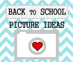 MUST SEE! Before the little ones start back to school, check out these ideas for capturing the milestone moment. CuriousLittleKid.com