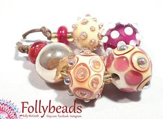 Hey, I found this really awesome Etsy listing at https://www.etsy.com/au/listing/532468093/handmade-lampwork-artisan-glass-bead-set