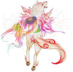 White Light Majesty - Amaretsu from Okami Tatou Animal, Video Game Art, Video Games, Minions, Japanese Mythology, Amaterasu, Japanese Aesthetic, Anime Animals, Dragon Art