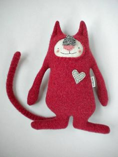 Red - Sweet Poppy Cat