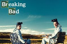 Breaking Bad - Walter and Jesse - Crystal Canyon TV Poster Photo at AllPosters.com