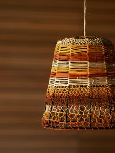 Elcho Island Woven Lampshade.