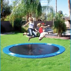 Trampolines On Sale! Are you searching for a massive Trampoline Set for your backyard? Look no further than Trampolines from Family Leisure!