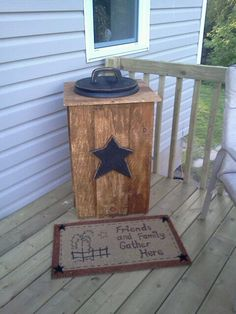 Outdoor Cooler :) A must have