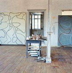 1. Brice Marden Studio