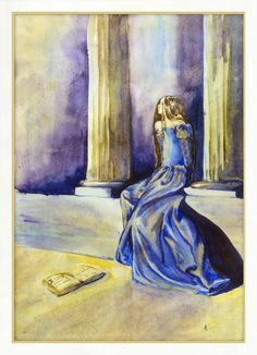 Blue dress by erzsebet-beast.deviantart.com on @deviantART