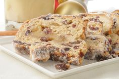 German Recipe: Christmas Stollen Sweet Bread