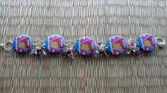 Punch buggy sparkle bracelet by valkirytails on Etsy, $30.00