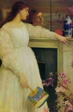 白のシンフォニーNo.2(1864年頃) #JamesAbbottMcNeillWhistler
