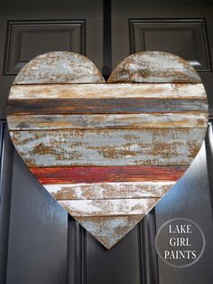 DIY Valentine's Day and LOVE Signs mixed board hanging heart Lake Girl Paints . Scrap Wood Projects, Woodworking Projects, Diy Projects, Teds Woodworking, Woodworking Books, Woodworking Magazine, Woodworking Workbench, Pallet Projects, Valentine Day Crafts