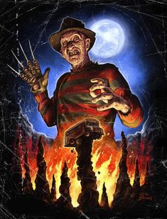 Horror Movie Characters, Best Horror Movies, Classic Horror Movies, Scary Movies, Horror Movie Tattoos, Freddy Krueger, Horror Icons, Horror Movie Posters, Jason Voorhees