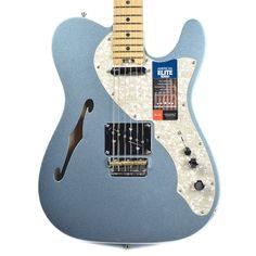 Fender American Elite Telecaster Thinline Mystic Ice Blue
