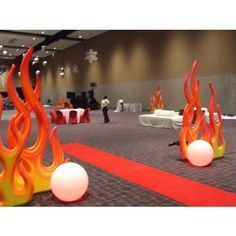 fire prom decorations - Buscar con Google